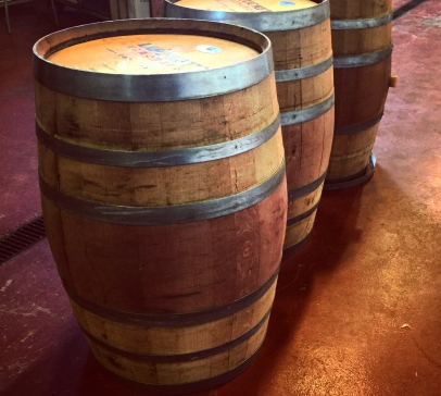 Re-toasted barrels, ready to age this year's harvest